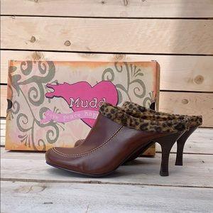 🆕 MUDD Cheetah Print Slip On Heels